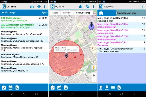 Мобильное приложение мерчандайзера